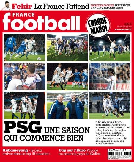 France Football - 15 Mars 2016