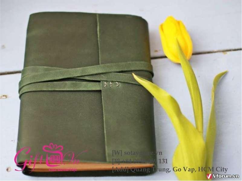 Làm Sổ Handmade Đơn Giản Cùng Sổ Tay Xuyên Việt