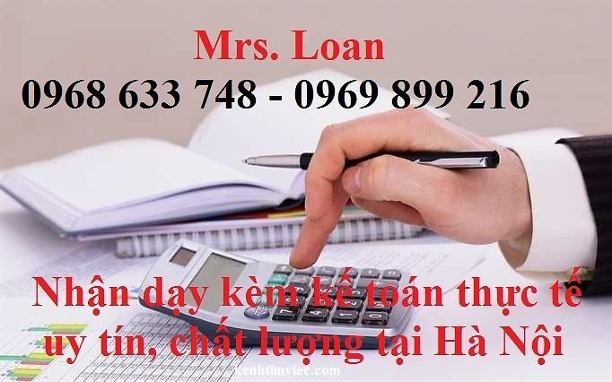 Tìm kế toán thuế ngoài giờ Mr Loan - 0968633748