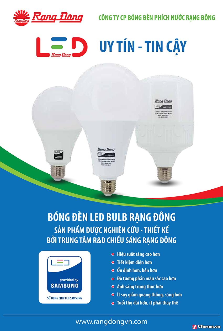 Bóng đèn LED 9W