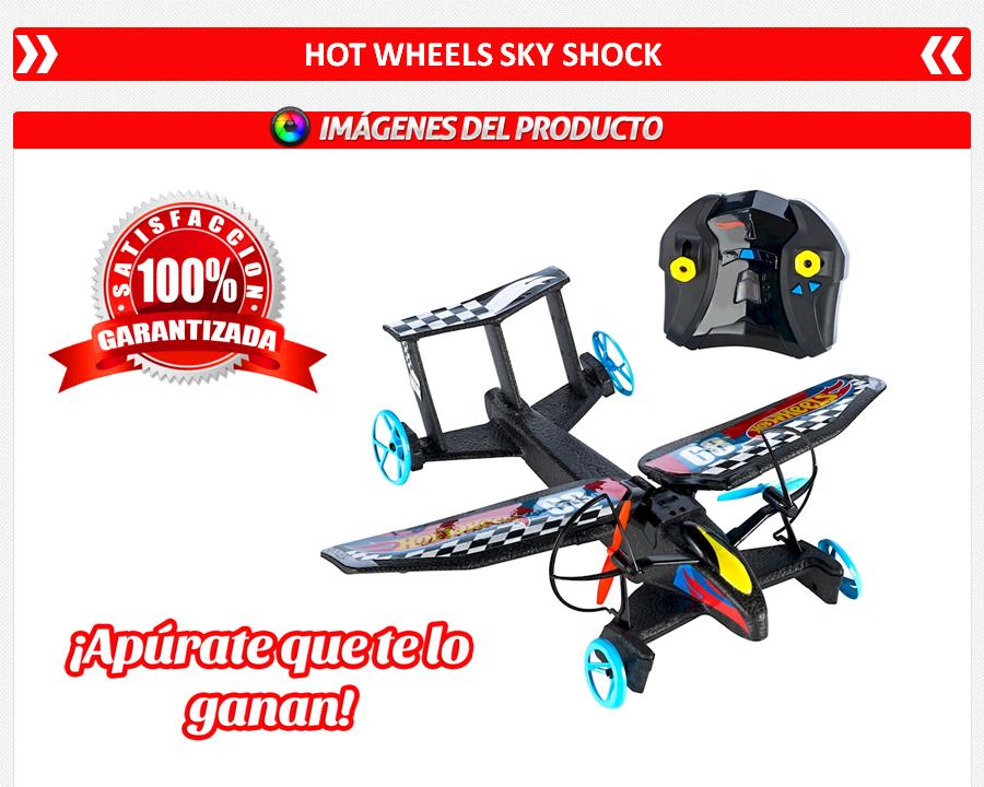 Hot wheels sky shock avion radio control rc 1 - Avion hot wheels ...