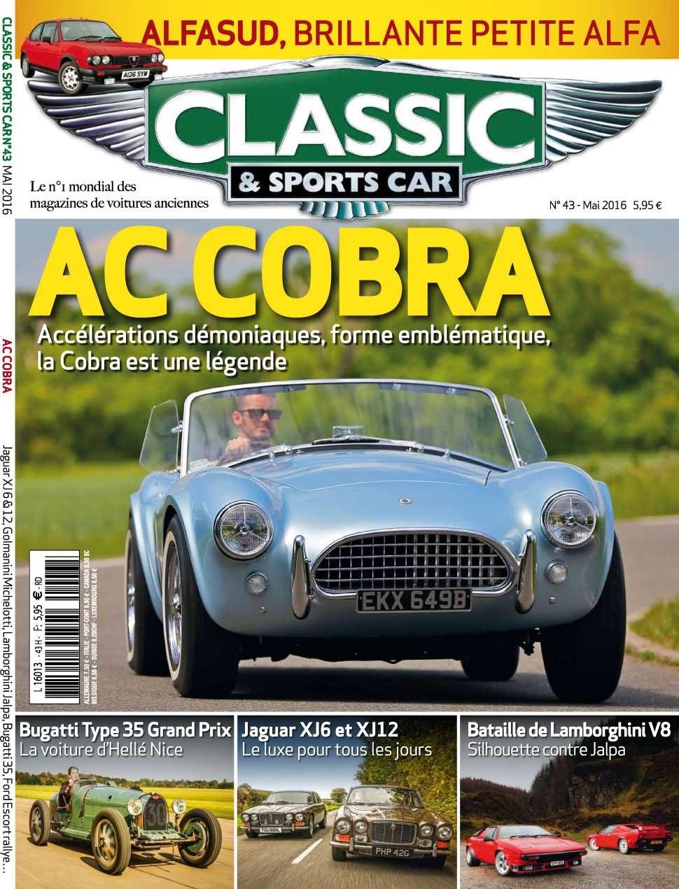 Classic & Sports Car 43 - Mai 2016