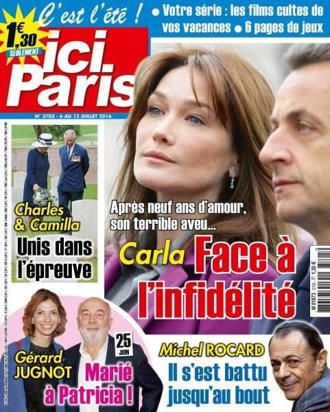 Ici Paris 3705 - 6 au 12 Juillet 2016