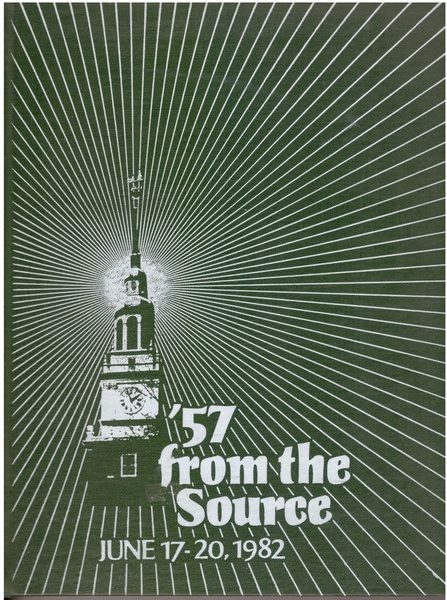 From the source : Dartmouth class of 1957 : twenty-fifth reunion yearbook, June 17-20, 1982, Dartmouth College. Schwarz, Thomas H. ; Epstein, Arlene.