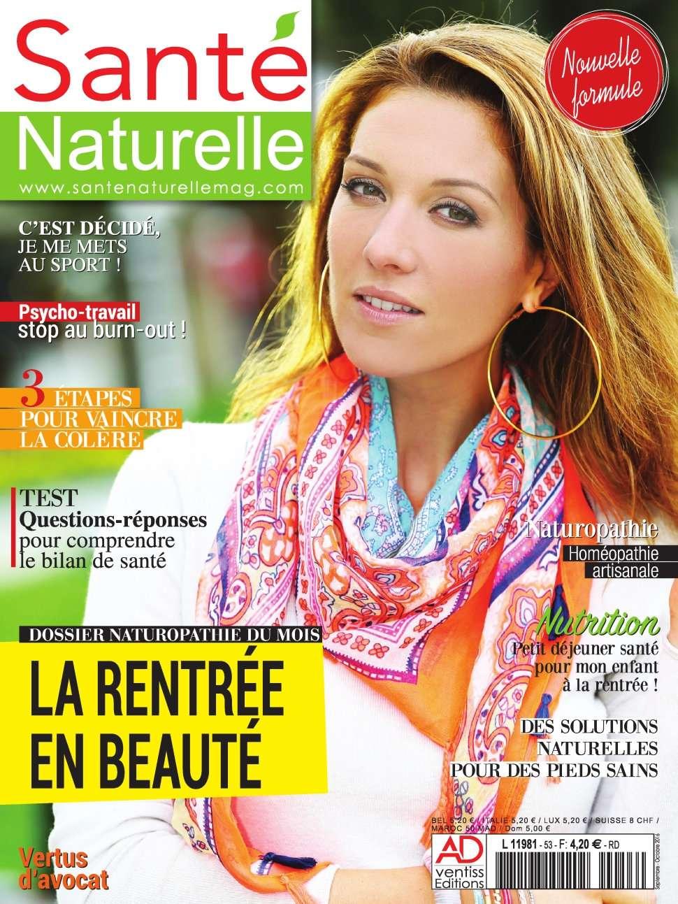 Santé Naturelle 53 - Septembre/Octobre 2016