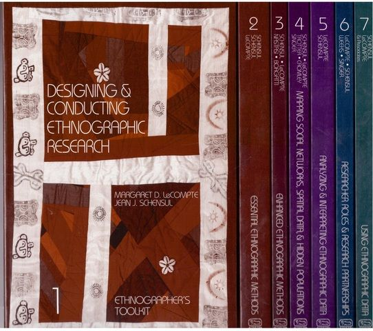 Ethnographer's Toolkit: 7-volume paperback boxed set 1st (first) Edition by LeCompte, Margaret Diane [1999]