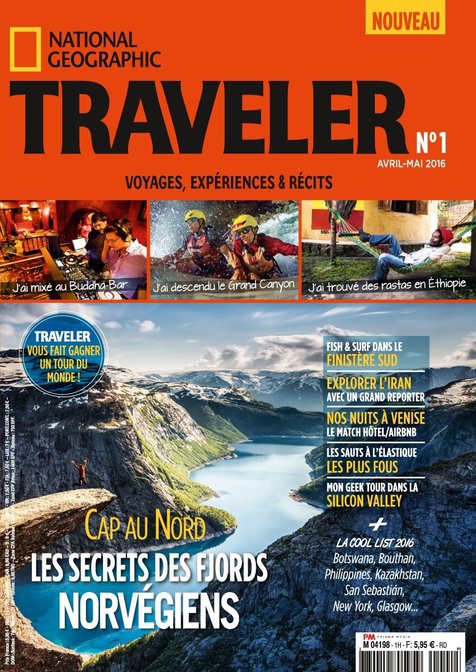 National Geographic Traveler 1 - Avril/Mai 2016