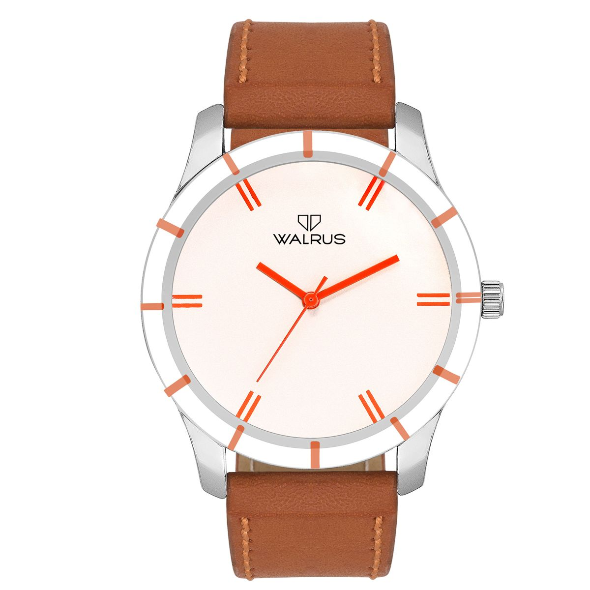 Walrus Adam White Color Analog Men Watch -WWM-ADM-011107