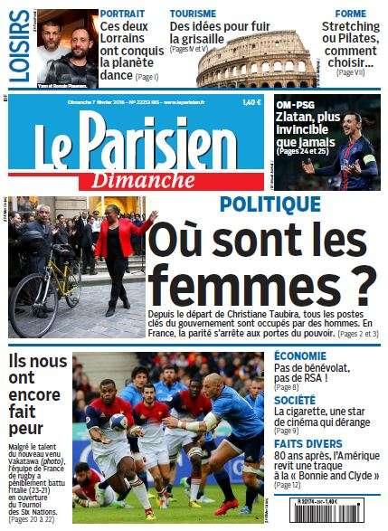 Le Parisien + Guide de votre Dimanche du 7 Février 2016