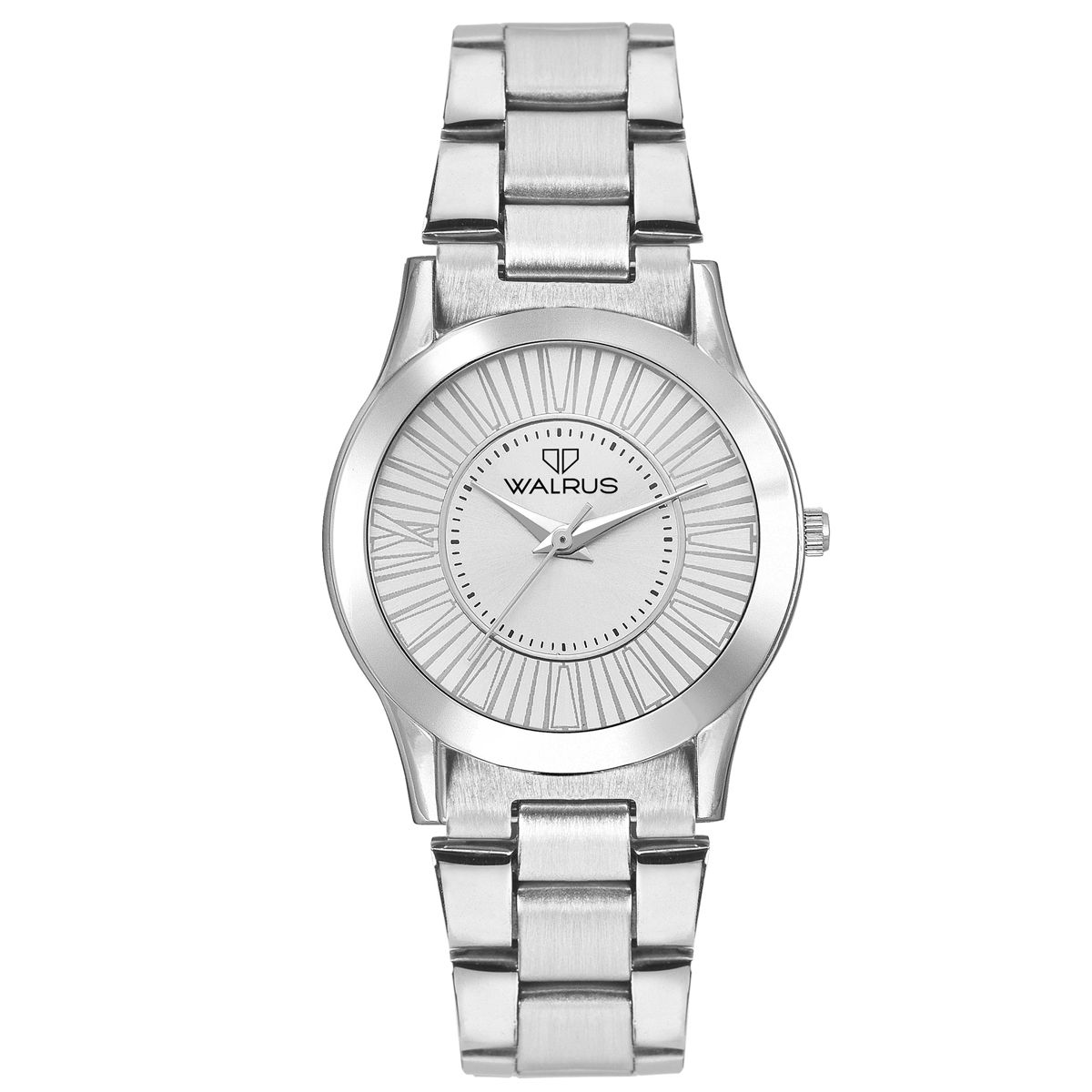 Walrus Ova Silver Color Analog Women Watch -WWW-OVA-070707