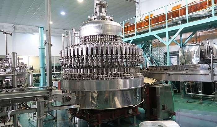 dây chuyền sản xuất nước có gas