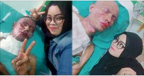 Chồng sắp chết vợ vẫn bắt xòe ngón tay selfie, ai cũng ném đá cho đến khi xem hình ảnh hiện tại