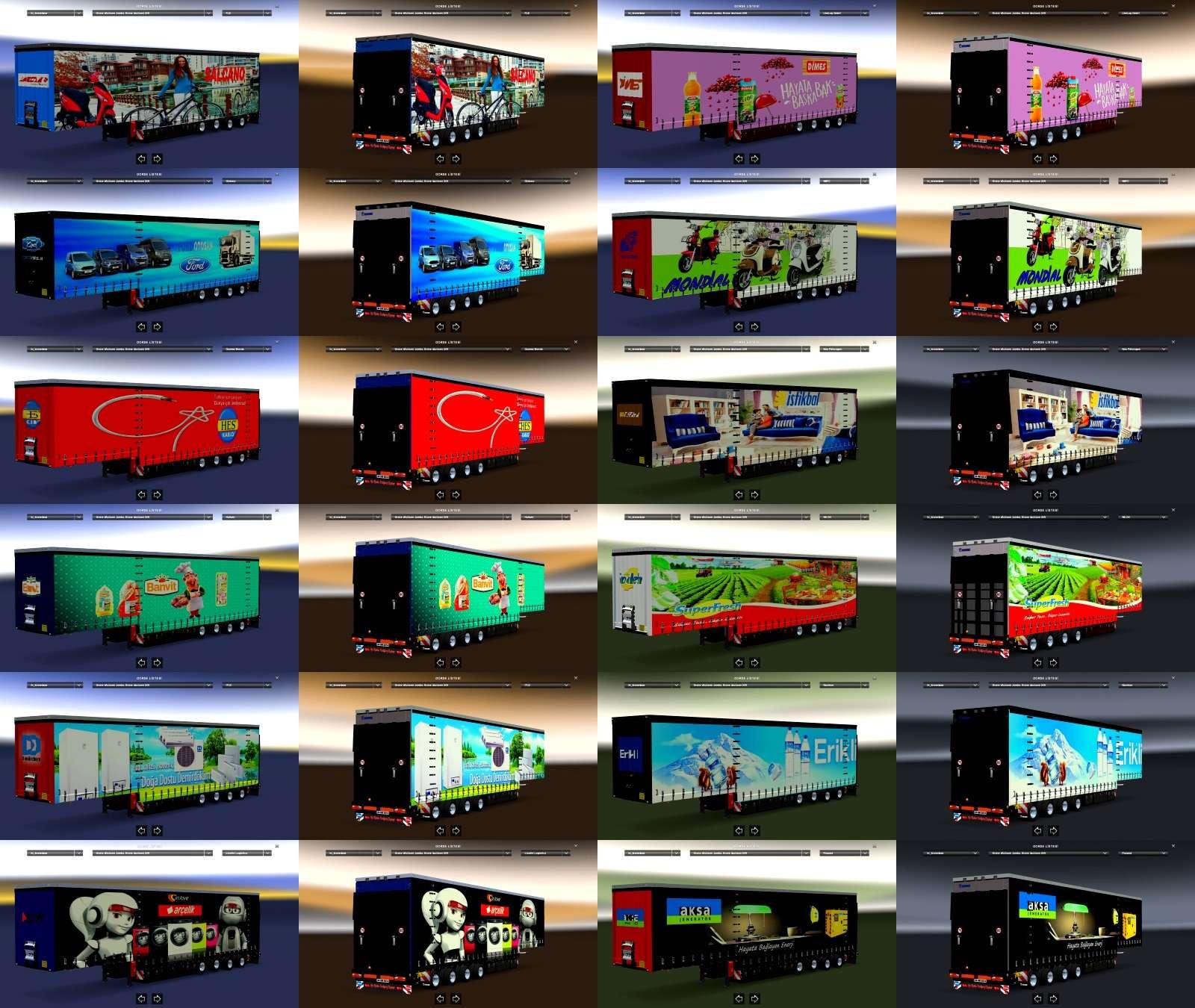 Turkish Brandings Realistic Trailers Pack v1 by zuhida96