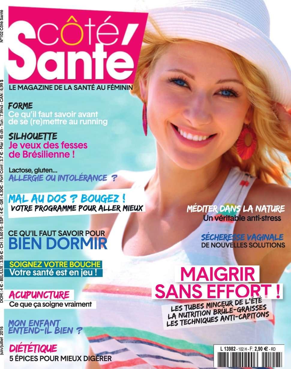 Côté Santé 102 - Juin/Juillet 2016