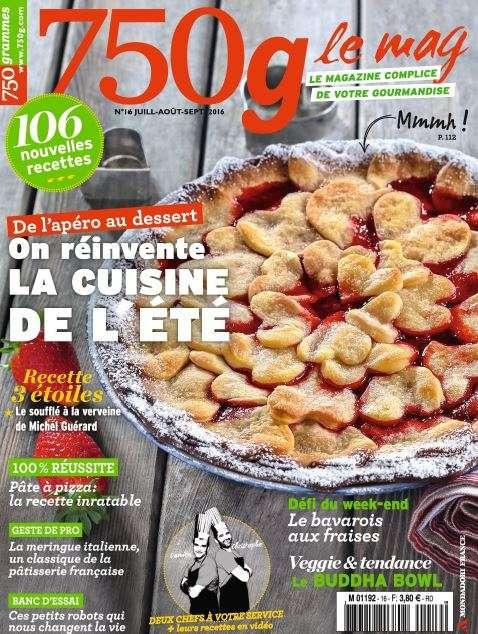 750g Le mag 16 - Juillet-Aout-Septembre 2016