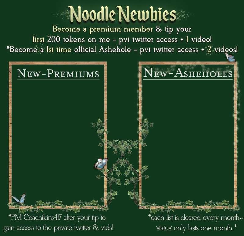 Noodle Newbies