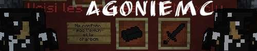 Serveur Minecraft AgonieMC