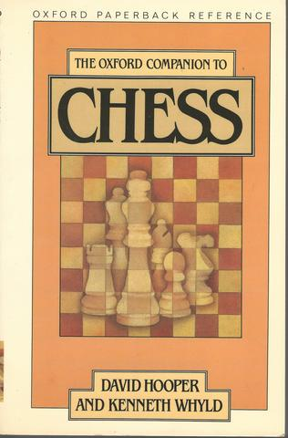 The Oxford Companion to Chess (Oxford Quick Reference)