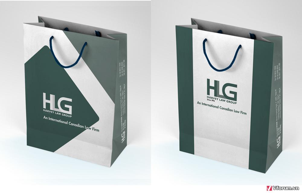 In túi giấy cho shop thời trang khẳng định thương hiệu