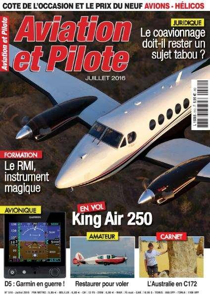 Aviation et Pilote - Juillet 2016