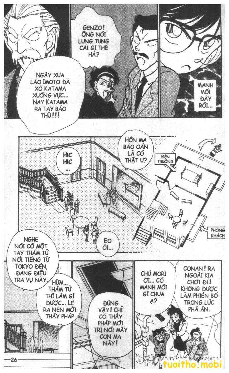 đọc truyện Conan bộ đặc biệt chap 19 trang 5