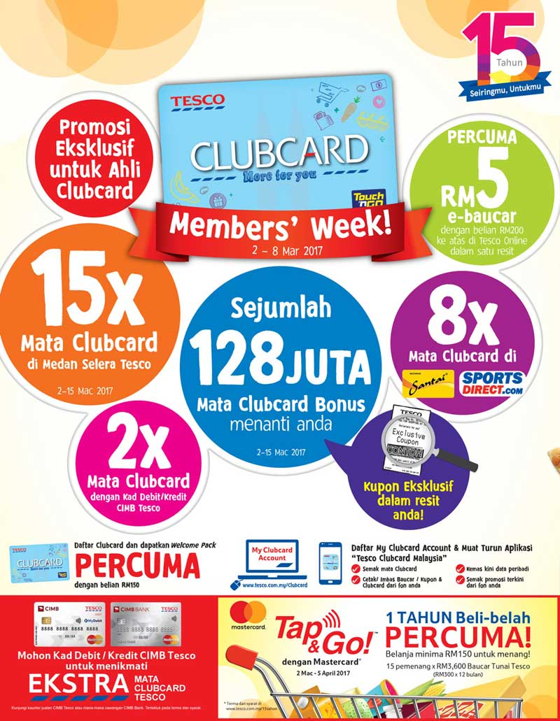 Tesco Malaysia Weekly Catalogue (2 March 2017 - 8 March 2017)