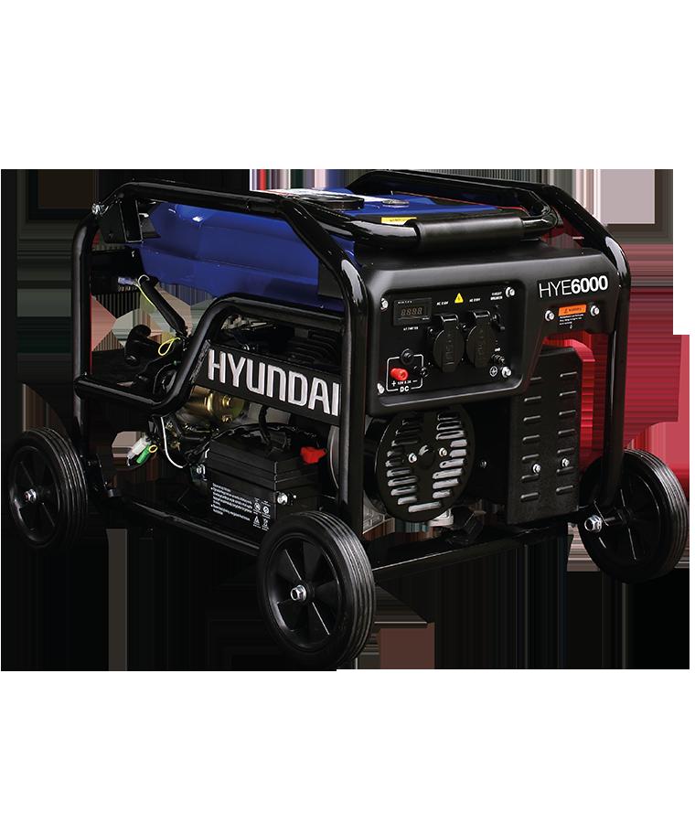 Generador a Gasolina Hyundai 6000W 4 tiempos Monofásico