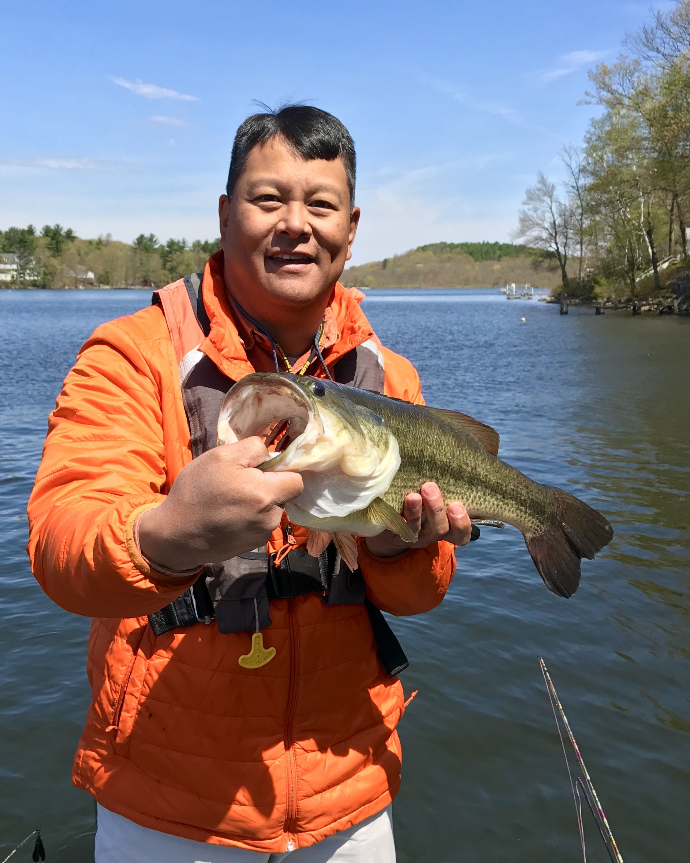 Bantam lake 05 04 connecticut bass for Bass fishing in ct