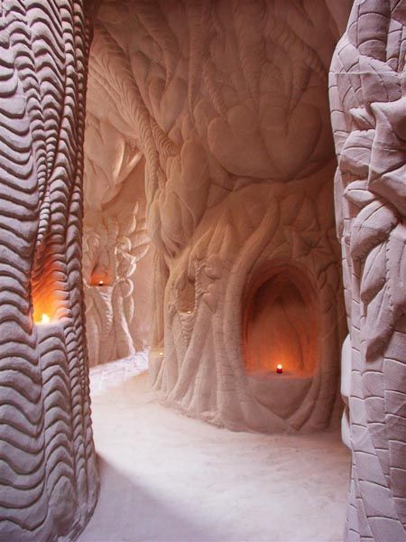 Sandstone Cave Carvings New Mexico