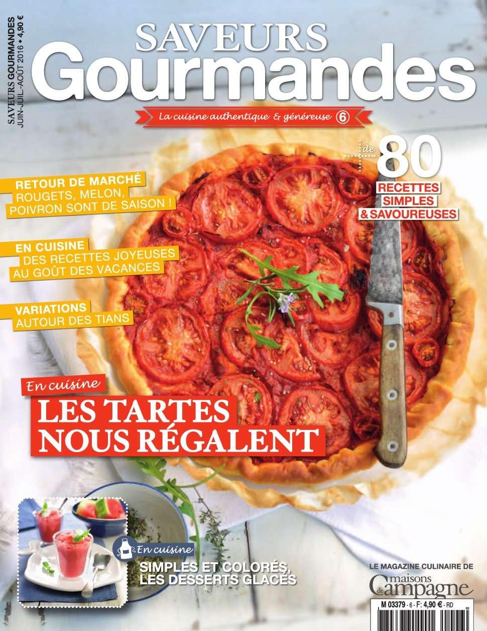 Campagne Gourmande 6 - Juillet/Aout 2016
