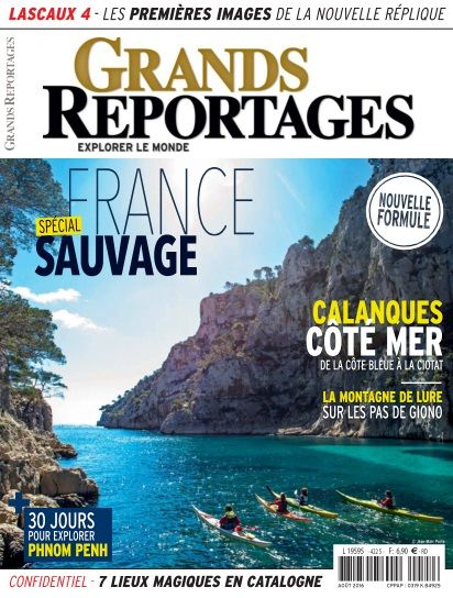 Grands Reportages - Août 2016