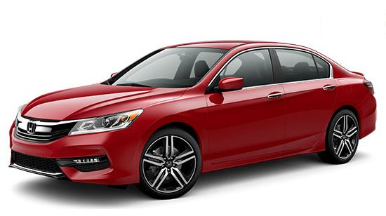 2016 Honda Accord Sport Lease Deal