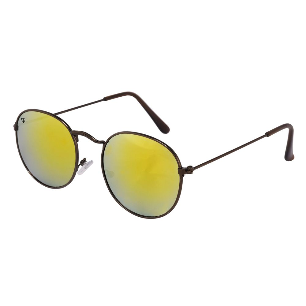 Walrus Royal Cooper Mirror Color Unisex Oval Sunglass - WS-RYL-II-220909
