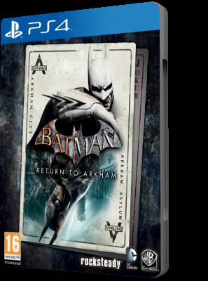 [PS4] Batman: Return to Arkham - Arkham Asylum (2016) - FULL ITA