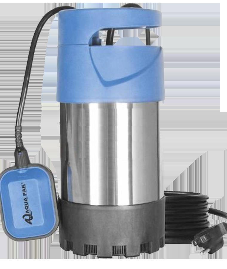 Bomba Sumergible Para Hidroneumaticos 1 Hp Aquapak Kanki10a