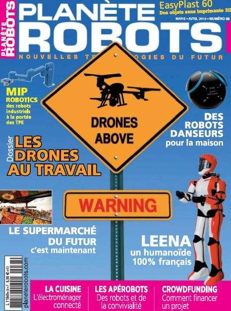 Planète Robots - Mars-Avril 2016