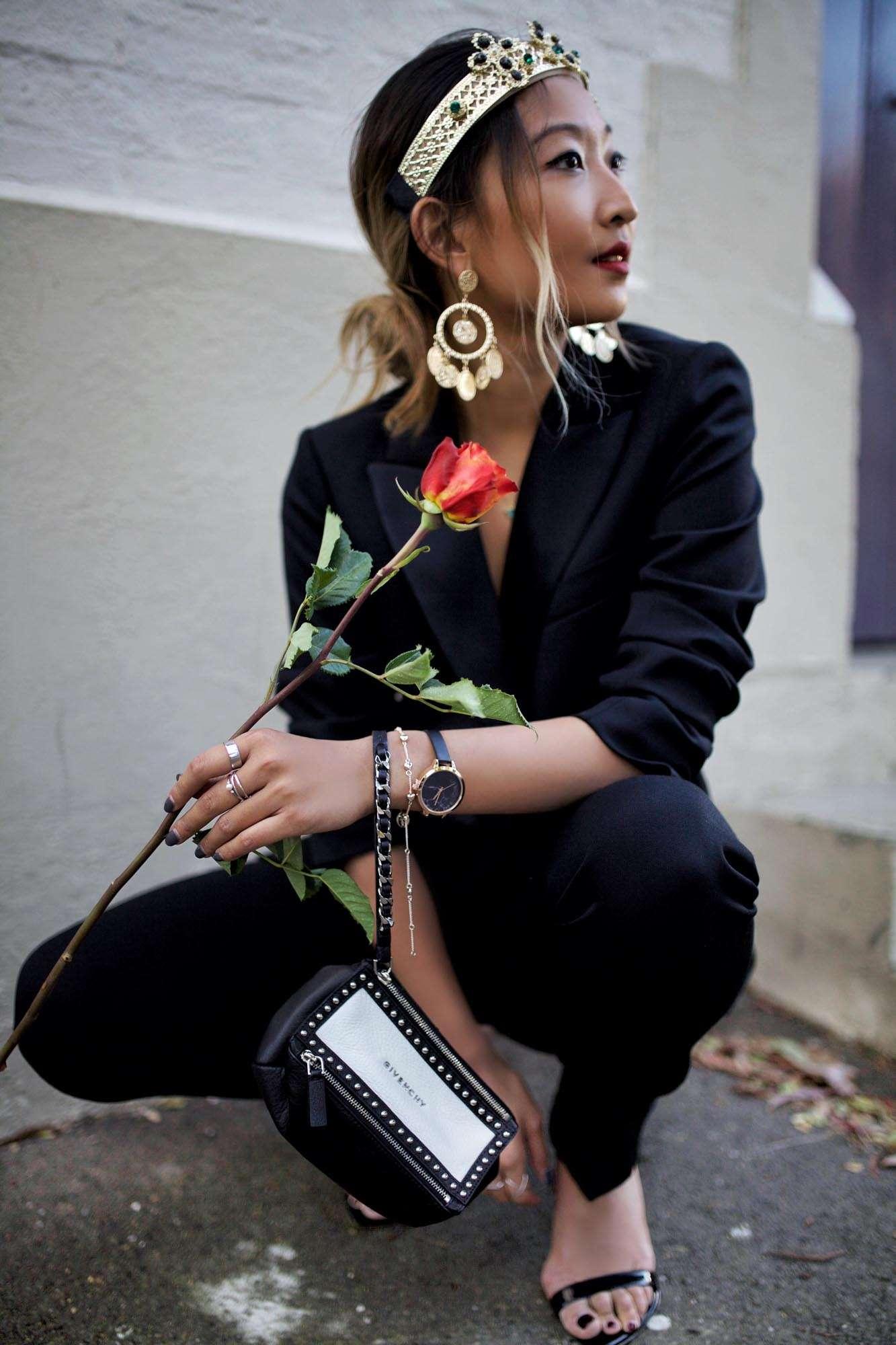 Sonia Rykiel Pantsuit, Givenchy, Derby Day, Lovisa, Spring Carnival