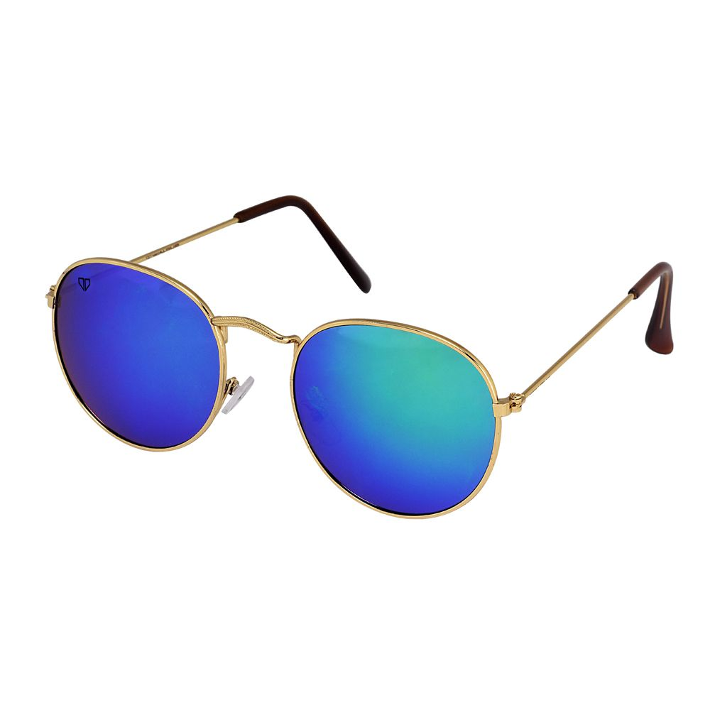 Walrus Royal Multicolor Mirror Color Unisex Oval Sunglass - WS-RYL-II-210606