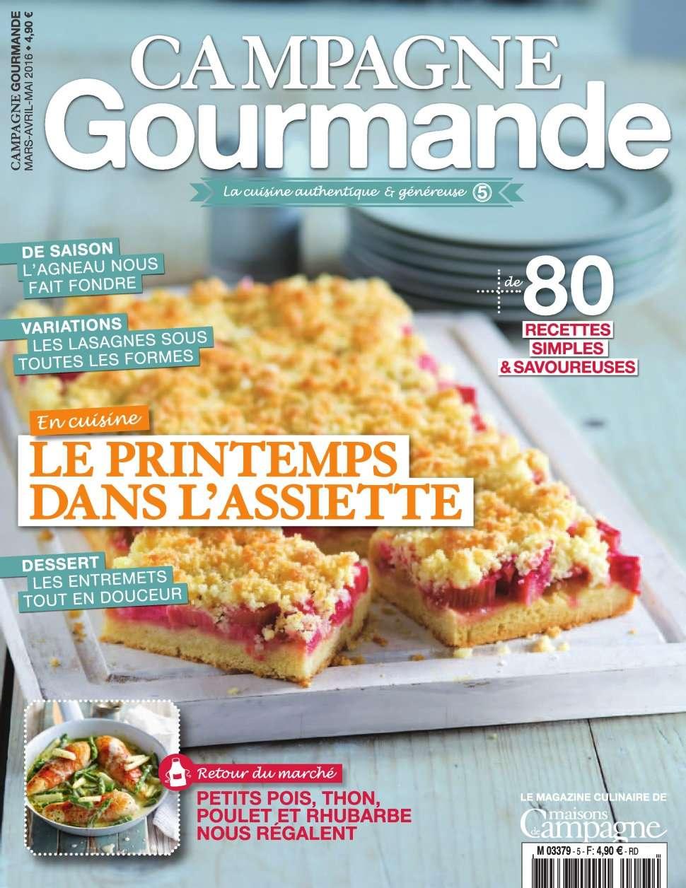 Campagne Gourmande 5 - Avril/Mai 2016