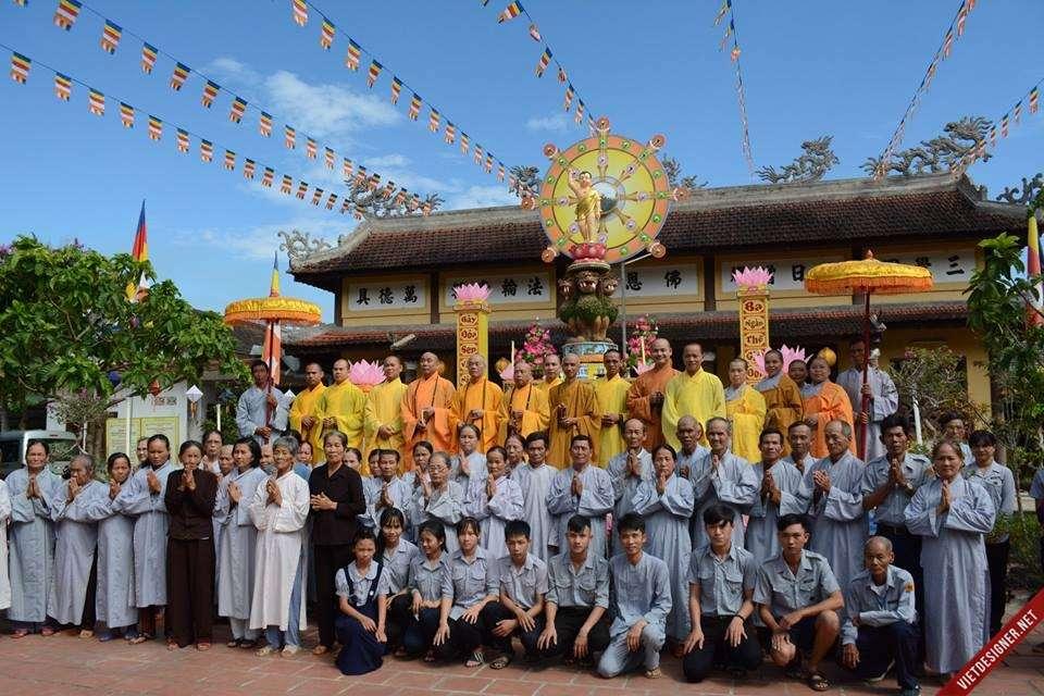 Nam Đông: BTS GHPGVN tỉnh thăm và kiểm tra công tác tổ chức Đại lễ Phật Đản của Phật giáo Nam Đông