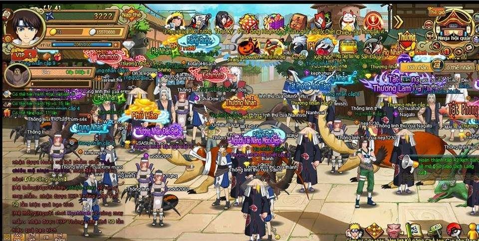 [Naruto Is Me] Huyền Thoại trở lại - Khai mở máy chủ mới Thứ 6 - 24/02/2017