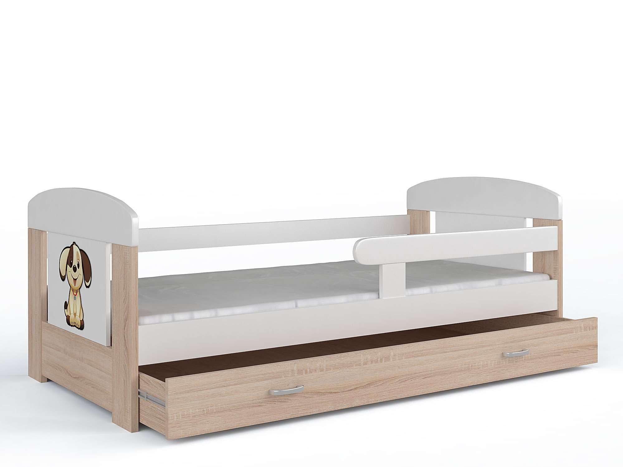 kinderbett mit schublade jugendbett matratze und. Black Bedroom Furniture Sets. Home Design Ideas