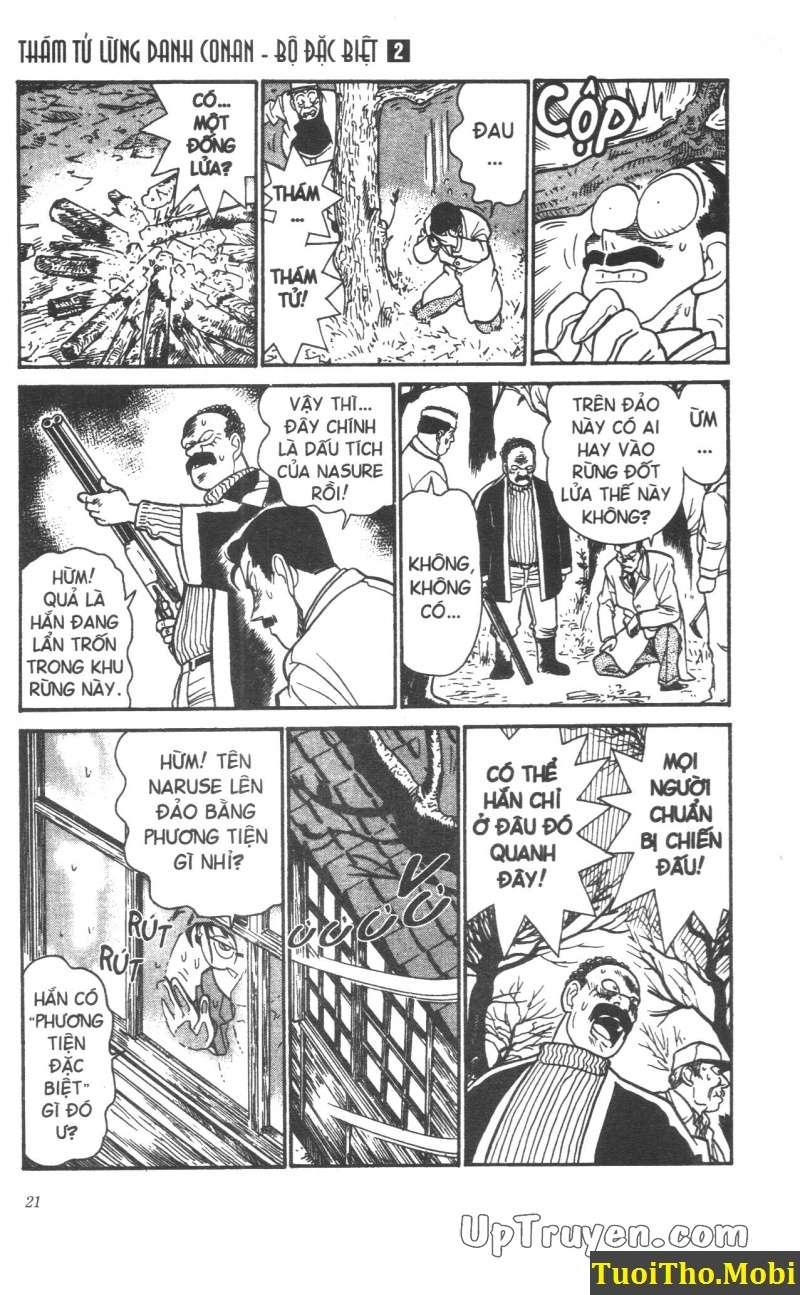 đọc truyện Conan bộ đặc biệt chap 10 trang 16
