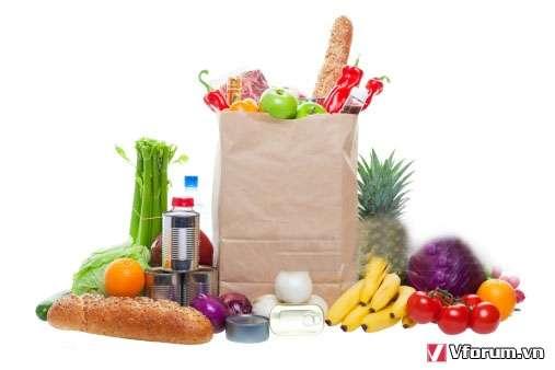 Đặt in túi giấy đựng thực phẩm giá rẻ của chúng tôi