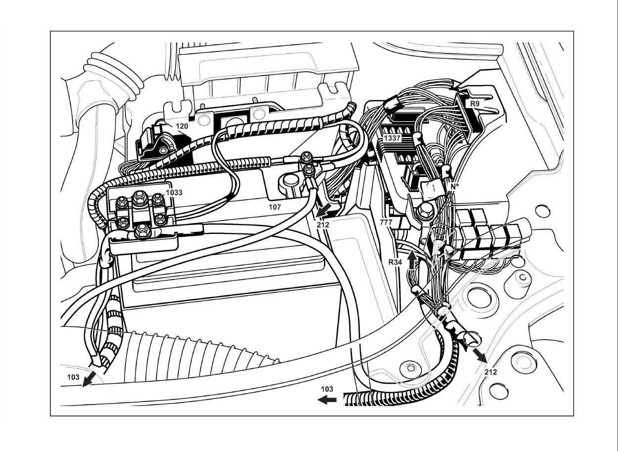 schema impianto elettrico renault scenic  schema elettrico