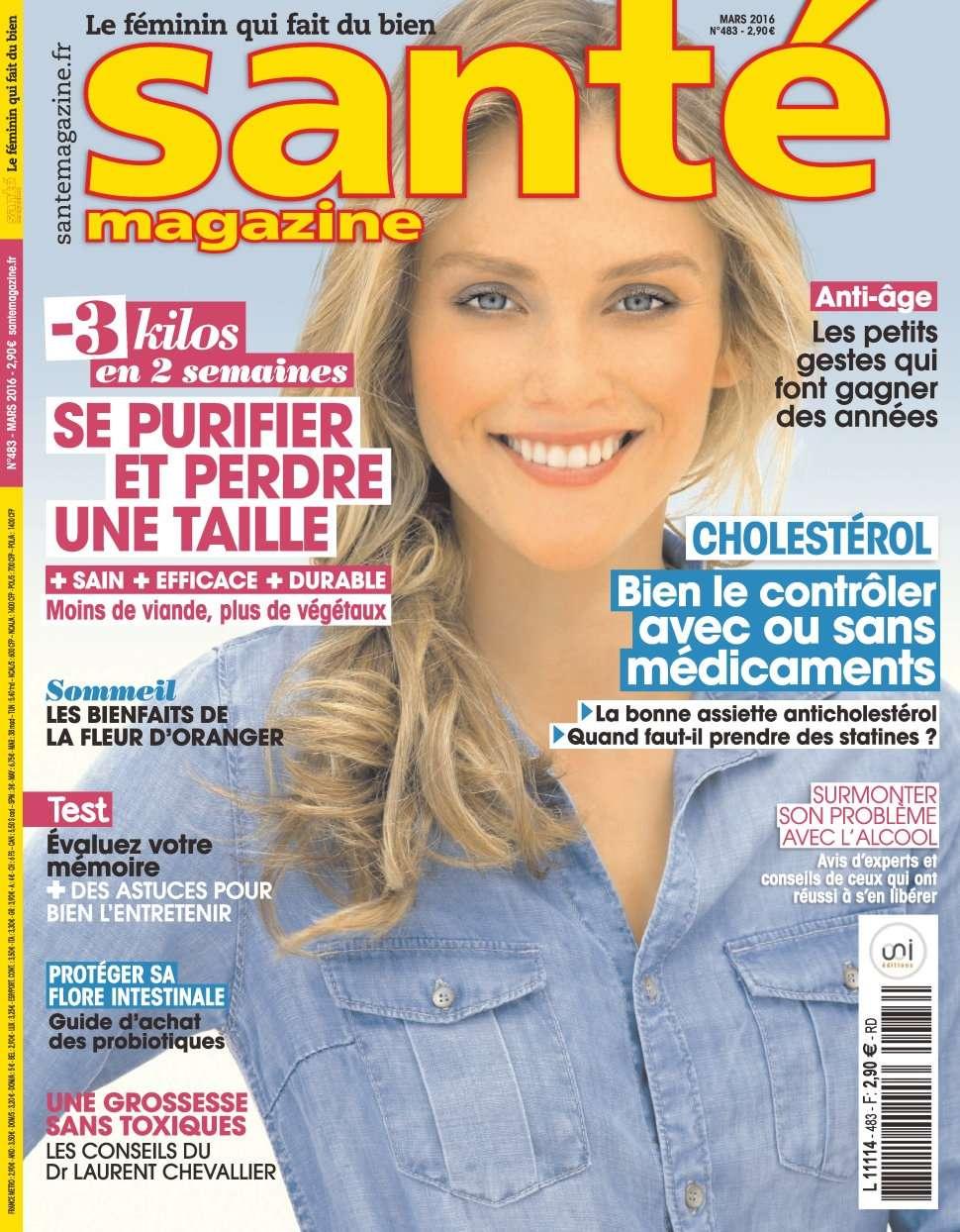 Santé magazine 483 - Mars 2016