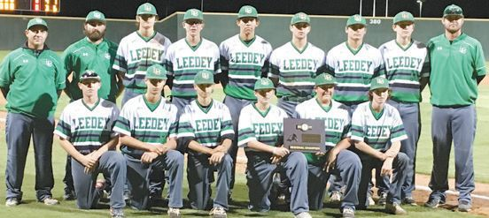 Leedey Baseball Headed to State