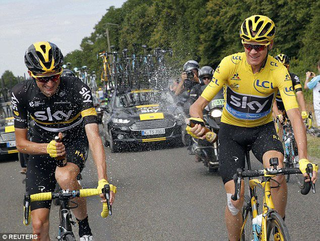 Tour de France 2016 Christopher Froome