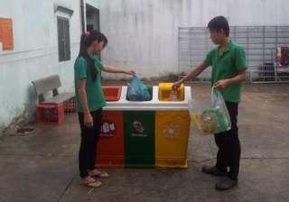 www.123nhanh.com: Bán thùng rác nhựa, thùng rác 3 ngăn giá hấp dẫn