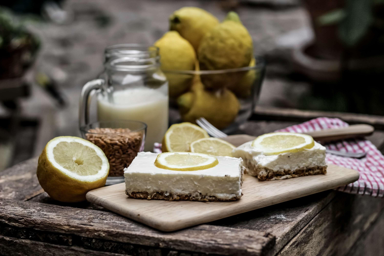 cheesecake, cheesecake citron, cheesecake allégé, la vie claire, biocoop, bio, cheesecake bio, blog bio, the green ananas, cheesecake citron au lait d'épeautre bio